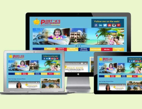 Portia Partnership Savings Plan (Web Design, Marketing)
